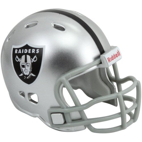 Pocket Revolution Pro Nfl Helmet (Riddell Revolution Pocket Pro Helmet - NFL Oakland Raiders)