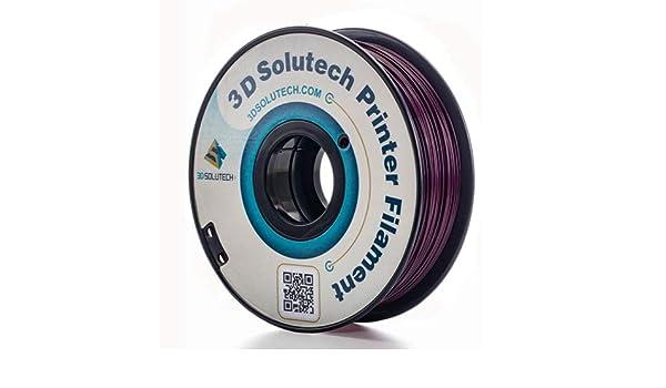3D Solutech Berenjena Púrpura Impresora 3D PLA Filamento 1.75MM ...