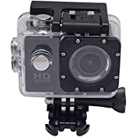 Mcoplus F23 1080P Helmet Sports DV Full HD 12MP Car Recorder Camcorder Diving Camera Bicycle Action Camera Cam (Black)