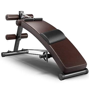Fitness y Ejercicio Máquina de Ejercicios para Abdominales Músculos Abdominales Adultos Máquina de Ejercicios Banco de Pesas con Mancuernas Adelgazamiento ...