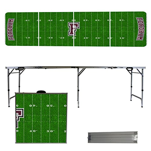 NCAA Fordham University Rams Football Field Version 8' Folding Tailgate Table by Victory Tailgate