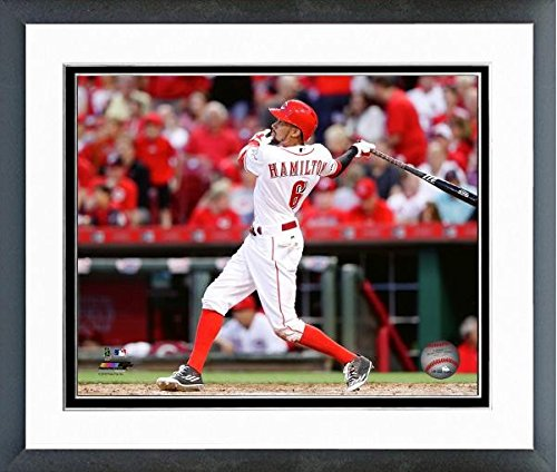 "Billy Hamilton Cincinnati Reds 2016 Mlb Action Photo (Size: 12.5"" X 15.5"")"