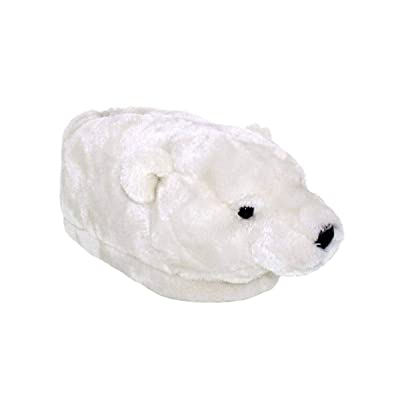 Amazon.com | 9094-1 - Polar Bear - Small - Happy Feet Animal Slippers | Slippers