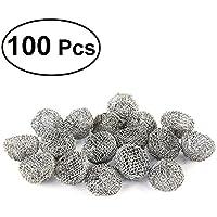 ROSENICE 100pcs Filtro de Pipas de Tabaco