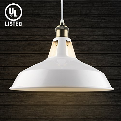 Pendant Light White - 8