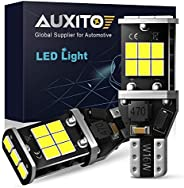 AUXITO 1600 Lumens Extremely Bright 921 912 LED Backup Reverse Light Bulbs High Power 2835 15-SMD Error Free T