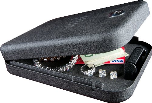 GunVault NV100 NanoVault with Key Lock, Fits Sub-Compact Pistols by GunVault