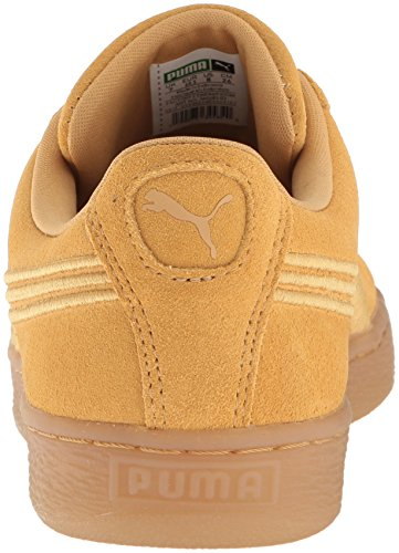 PUMA Suede Classic Badge Iced Fashion Sneaker Taffy tHLsa9Ppcm