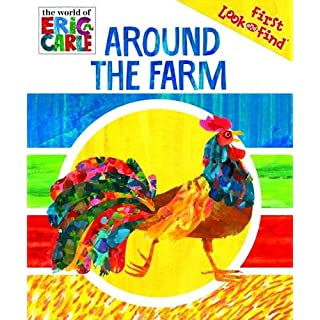 World of Eric Carle, Around The Farm My First Look And Find Activity Book - PI Kids