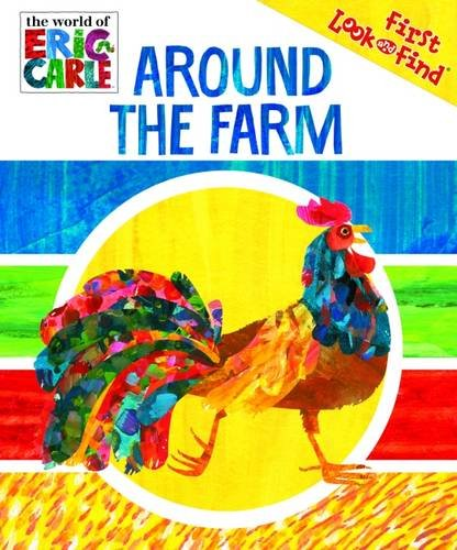 Eric Carle Around The Farm My First Look And Find