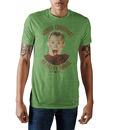 Home Alone Merry Christmas Ya Filthy Animal T-Shirt Large