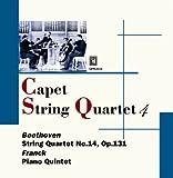 Quatuor Capet / Franck, Beethoven