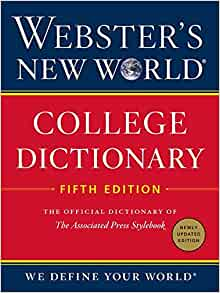 Websters World College Dictionary Fifth product image