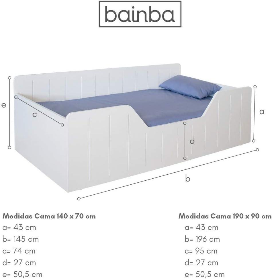 Bainba Cama Infantil Montessori Nao (190, 90): Amazon.es: Hogar