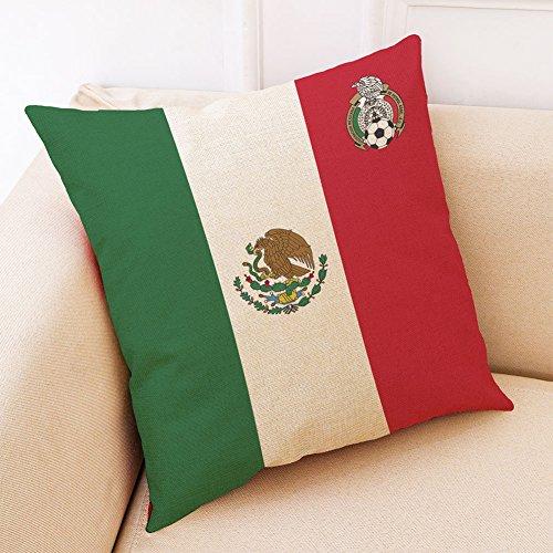 zantec Creative World Cup equipo de fútbol manta funda de almohada (sin almohada interior): Amazon.es: Bricolaje y herramientas