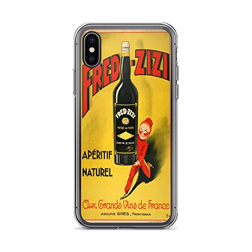 - Vintage Poster - Fred-Zizi Aperitif 0525 - iPhone Xs Max Phone Case