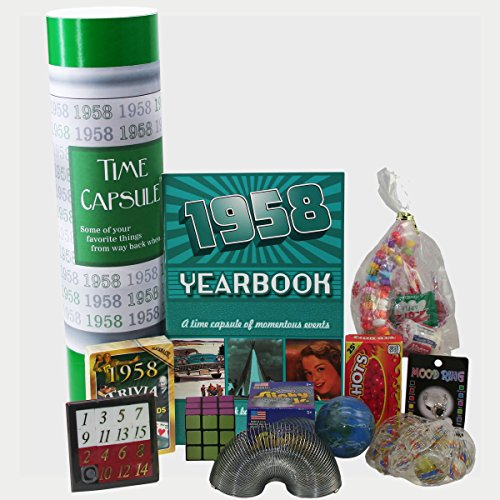 1958 Time Capsule - 60th Birthday Gift for Men or Women