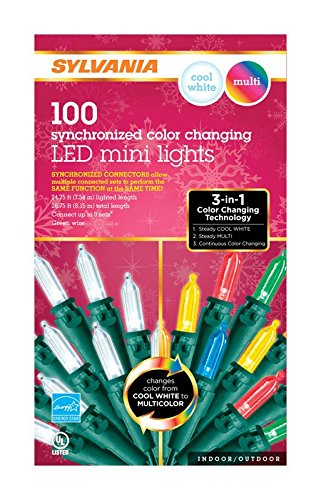 Sylvania 100 Led Multi Color M5 Lights