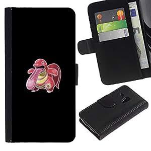 All Phone Most Case / Oferta Especial Cáscara Funda de cuero Monedero Cubierta de proteccion Caso / Wallet Case for Samsung Galaxy S3 MINI 8190 // Poke Monster Big Tongue