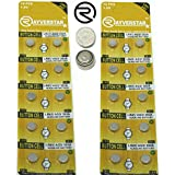 Rayverstar LR41 AG3 1.5 Volt Alkaline Battery (20), Fits: 392, 192, SR41, 384, G3, 736 (Full List Below)