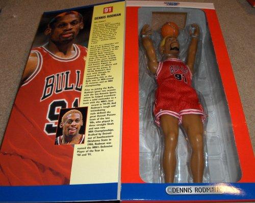 DENNIS RODMAN / CHICAGO BULLS 1997 Edition * 12 INCH * NBA Kenner Starting Lineup Action - Figures Inch 12 Nba