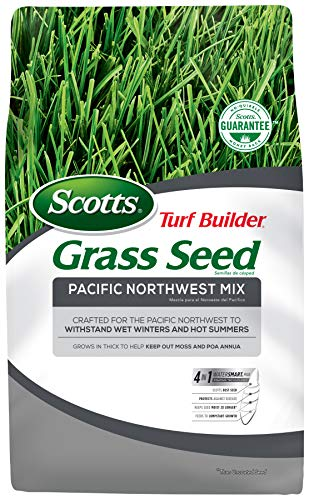 Scotts 18246 Turf Builder Grass Seed Pacific Northwest Mix, 7-Pound