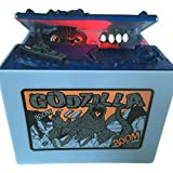 Cool Musical Automatic Godzilla Bank Stealing Coin Moving...
