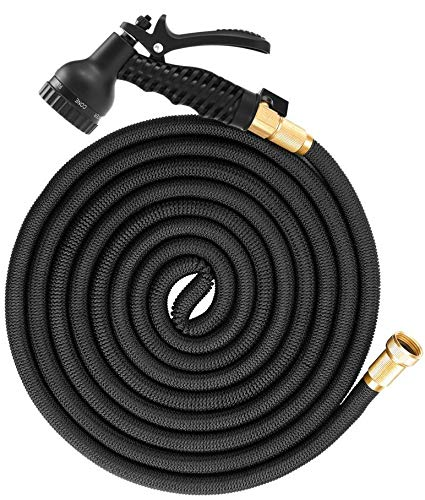 SGODDE 50ft Expandable Garden Hose, All New 2019 Flexible Water Hose with 3/4