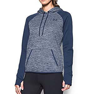 Under Armour Women's Storm Armour Fleece Icon Twist Hoodie, Faded Ink (418), Small
