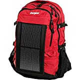 Energizer PowerKeep Wanderer Daypack Solar Charging Backpack - Red