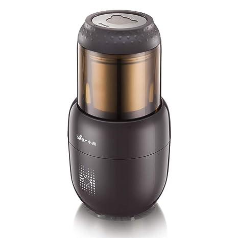 Molinillo de café en grano Máquina 300 W 4 cuchillas Mini molinillos eléctricos portátiles Molinillo de