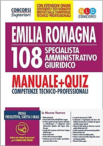 Concorso Regione Emilia Romagna 108 specialista ...