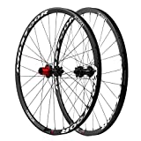 Image of mostoor 10 Speed Through Axle Carbon MTB Wheelset for Mountain Bicycle Hook Rim Cycling for Shimano