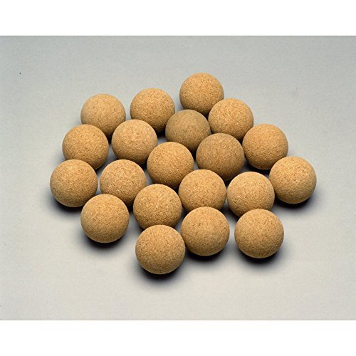 Rene Pierre Foosball Table Cork Ball Replacement - Natural (Set of 6)