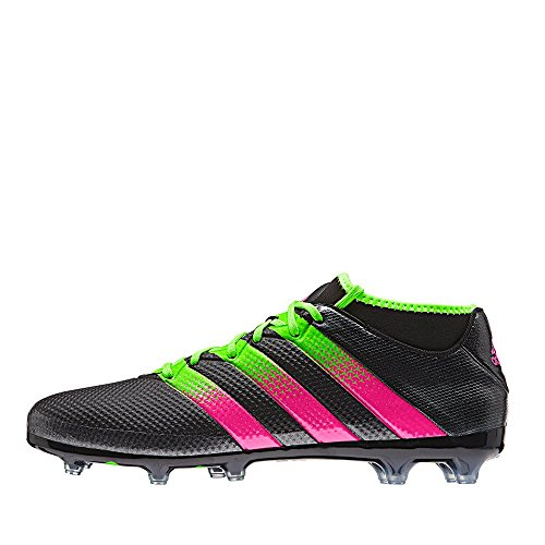 Adidas ACE 16.2 Primemesh FG/AG AQ2551 Fußballschuhe schwarz grün pink