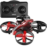 Drone for kids, SANROCK RC Mini Drone GD65A for Beginners RC Helicopter Plane with Altitude Hold,Headless Mode,Return Home Function,RTF 4 Channel 2.4Ghz 6-Gyro Remote Control For Sale
