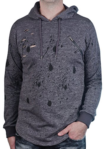Printed French Terry Hoodie - 8