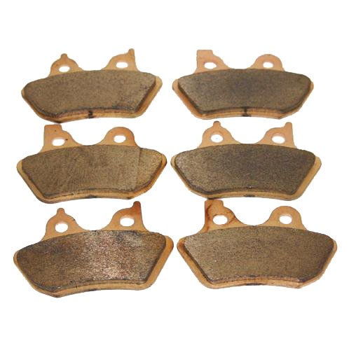 Front & Rear Brakes Harley Davidson Touring Flhtcu-i Electra Glide Ultra Classic Sintered Severe Duty Brake Pads 2000 2001 2002 2003 2004 2005 2006 2007