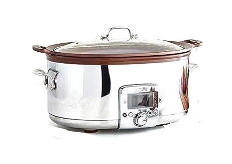 Amazon.com: All-Clad 7 Qt olla de cocción lenta (Gourmet con ...