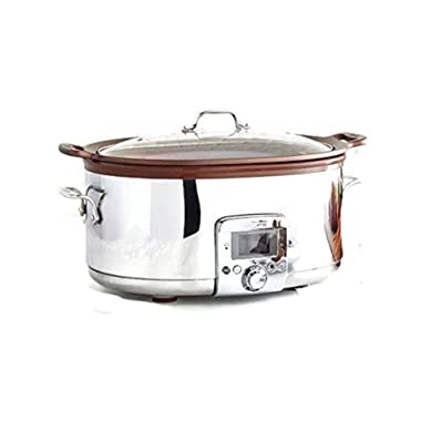 All-Clad 7 Qt Gourmet Slow Cooker with All-in-One Browning