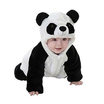 783cbd420 Amazon.com   potato001 Baby Boys Girls Winter Warm Panda Costume ...