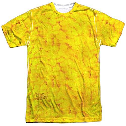 Big Bird Costume Sublimation T-Shirt (Front & Back), Large ()