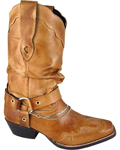Smoky Mountain Damene Avalon Vestlige Boot Tan