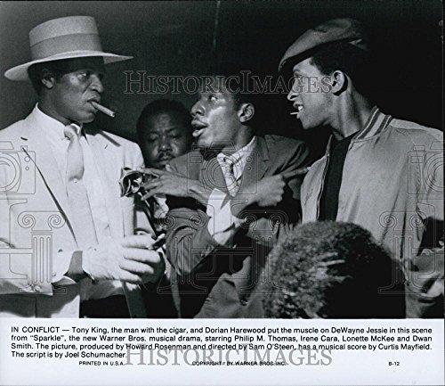 "1976 Multitude Photo Tony King, Dorian Harewood, DeWayne Jessie ""Sparkle"""