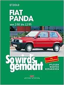 So wird s gemacht, Bd.64, Fiat Panda (von 2/80 bis 12/95): Hans