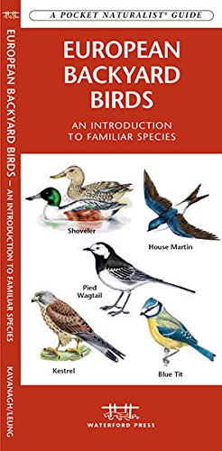 European Backyard Birds: A Folding Pocket Guide to Familiar Species (A Pocket Naturalist Guide)
