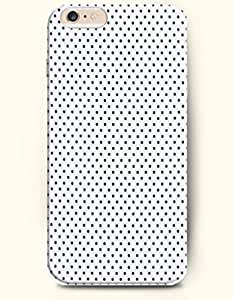 Diy For SamSung Galaxy S4 Mini Case Cover Case with of Beautiful Dots In White Background - Polka Dot Series -OOFIT Authentic Skin