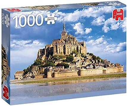 Premium Collection Mont Saint-Michel 1000 pcs Puzzle - Rompecabezas (Puzzle rompecabezas, Ciudad, Niños y adultos, Niño/niña, 12 año(s), Interior) , color/modelo surtido: Amazon.es: Juguetes y juegos