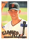 2010 Topps Baseball Card #105 Madison Bumgarner San Francisco Giants Rookie Card (RC) - Mint Condition - Shipped In Protective ScrewDown Display Case!