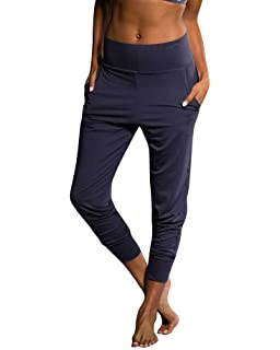 02f3c2908f88f Onzie Yoga Woven Jogger Pant 2019 Black at Amazon Women's Clothing ...